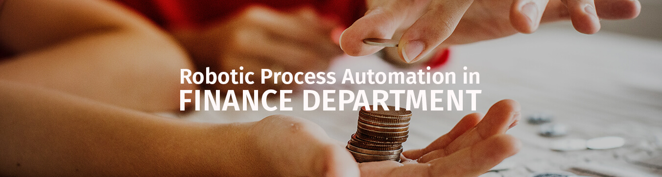 robotic process automation in finance Department